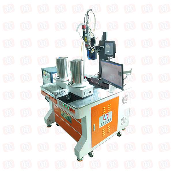 双工位旋转光纤激光焊接机